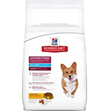 Hill's Science Diet Adult Advanced Fitness Small Bites Dry Dog Food 7.94kg/17.5-Pound Bag