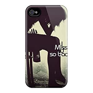 Excellent Design Miss You Case Cover For Iphone 4/4s