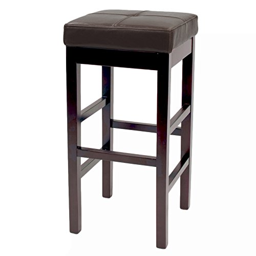 Valencia Backless Leather Counter Stool 27