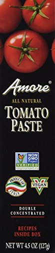 Amore Tomato Paste - 4.5 oz (2 Pack) ()