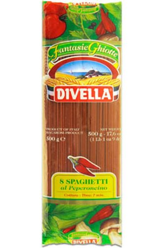 Divella Spaghetti al Peperoncino N°8
