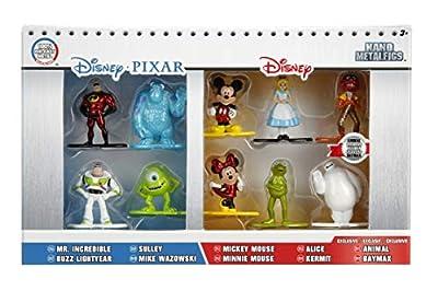 Disney Nano Metalfigs Die-Cast Mini-Figures 10-Pack