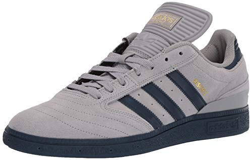 adidas Originals Men's Busenitz, Light Granite Collegiate Navy, 10 M US