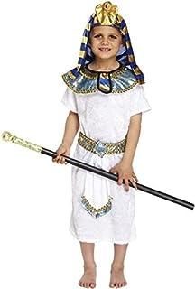 EGYPTIAN PHARAOH FANCYDRESS COSTUME OUTFIT PRINCE KING LARGE 10-12  sc 1 st  Amazon UK & Boys Costume: Egyptian King (Medium 7 - 9 yrs) (Costume): Amazon.co ...