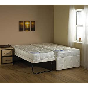 SINGLE 3 IN 1 GUEST BED WITH DEEP QUILTED MATTRESS!!!