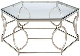Furniture of America Marilyn Geometric Coffee Table