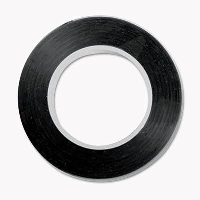 Art Tape, Black Gloss, 1/8'''' x 324, Sold as 1 Each by Cosco (Image #1)