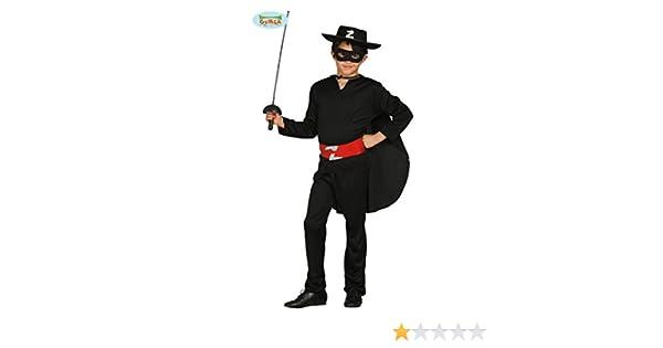 Guirca Rudy Traje de Zorro,, Color Negro, 5/6 años, 78701 ...