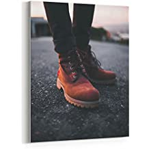 Westlake Art - Canvas Print Wall Art - Shoe Boot on Canvas Stretched Gallery Wrap - Modern Picture Photography Artwork - Ready to Hang - 16x20in (*7x-08d-cd9)