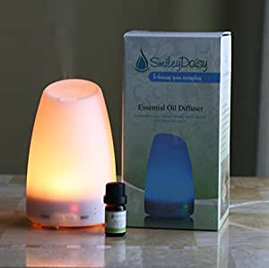 Amazon.com: Smiley Daisy Aromatherapy Diffuser Bundle with