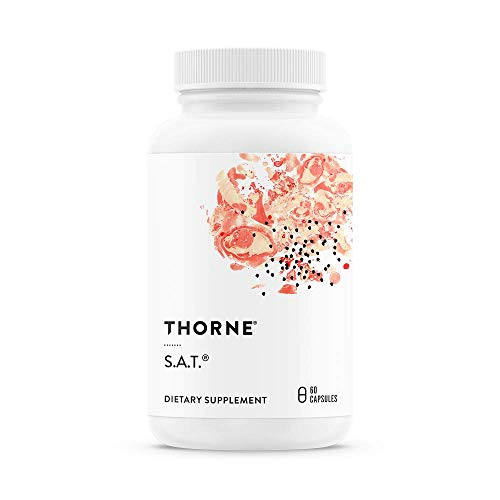 (Thorne Research - S.A.T. - Silymarin, Artichoke, and Turmeric Extracts for Liver Support - 60 Capsules)