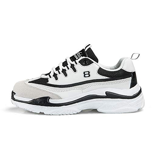 Simpson Jessica Nordstrom - TNGWA& Sneakers Men Shoes Couple Chunky Sneakers Spring Summer Shoes Men Walking Trainers Male Breathable Sneakers Men Zapatos Blackwhite 10