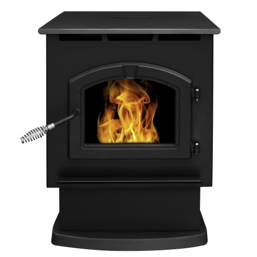 Multi Fuel Pellet Stoves - Pleasant Hearth 50,000 BTU Large Pellet Stove