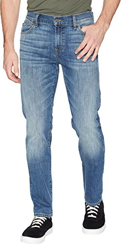 7 For All Mankind Men's Slimmy Slim Straight Leg Luxe Perfor