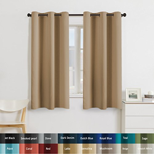 Living Room Curtains With Valance Amazon Com