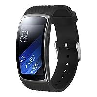 Aresh kompatibel Samsung Gear Fit 2/Fit 2 Pro Uhrenarmband,Weiche Silikon Sport Ersatz Armband kompatibel Samsung Gear Fit 2 Smart Watch