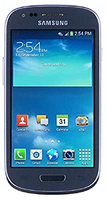 Samsung Galaxy S3 Mini G730v 8GB Verizon CDMA No-Contract 4G LTE Smartphone - Blue (Certified Refurbished)