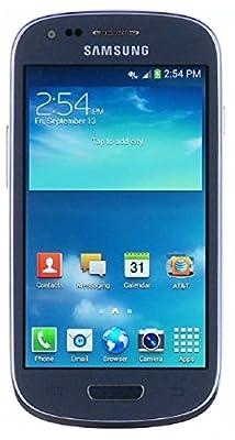 Samsung Galaxy S3 Mini G730v 8GB Verizon CDMA No-Contract 4G LTE Smartphone - Blue (Certified Refurbished)