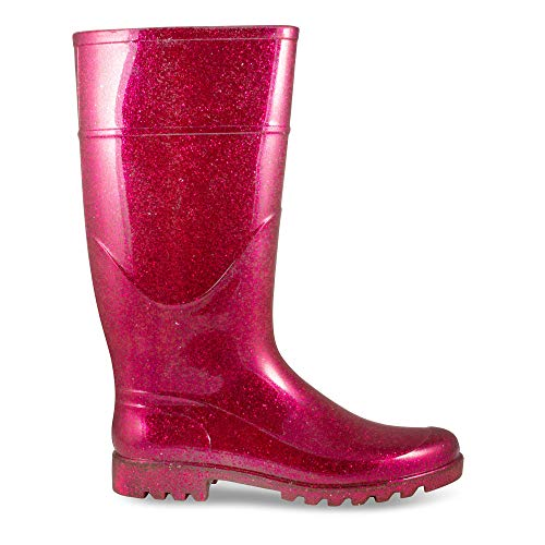 Pictures of Twisted Women's Drizzy Jelly Rain Boots- Fuchsia 8 M US 4