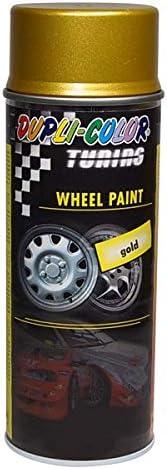 Dupli Color 192012 Tuning Felgen Lackspray Wheel Paint Gold 400 Ml Auto