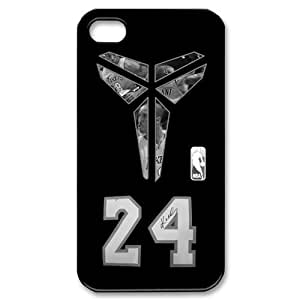 Custom Your Own NBA Los Angeles Lakers Kobe Bryant iPhone 4/4S Case , personalised Kobe Bryant Iphone 4 Cover