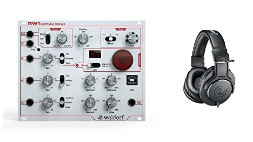 Waldorf NW1 Eurorack Synth w/ Audio-Technica ATH-M20x Headphones Bundle