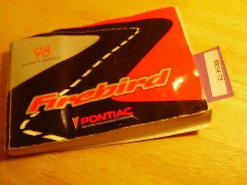1998 Pontiac Firebird Owners Manual