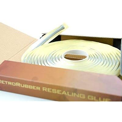 RetroRubber OEM Grade Butyl Headlight Sealant, Gray: Home Improvement