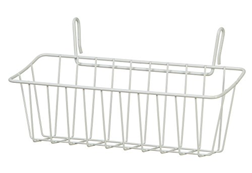 ClosetMaid 3937 Large Packet Pal, White (Wire Packet Rack)