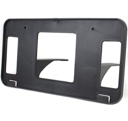 Diften 102-A3547-X01 - New License Plate Bracket Front Black F150 Truck F250 FO1068120 XL3Z17A385AA
