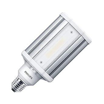 Lámpara LED TrueForce Alumbrado Público E27 33W Frost HPL Blanco Neutro 4000K efectoLED: Amazon.es: Iluminación