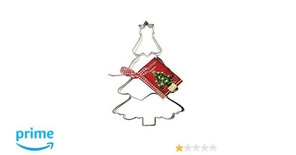 Birkmann 191297 - Cortador de masa grande con forma de árbol de Navidad: Amazon.es: Hogar