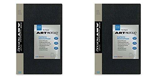 Itoya Art Portfolio  8x10-Inch Storage Display Book (Pack of 2) (For Pictures Album 8x10 Photo)