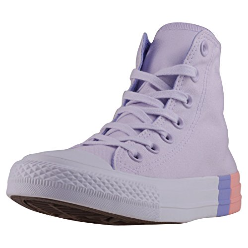 Adulte 551 Chuck Barely Grape CTAS Pulse Chaussures de Canvas Mixte Hi Converse Fitness Taylor Rose Twilight fzRqgg