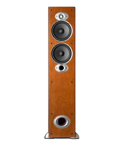 Polk Audio RTI A5 Floorstanding Speaker (Single, Cherry) by Polk Audio
