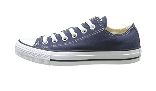 Amazon.com | Converse Chuck Taylor All Star Canvas Low Top Sneaker (11.5 B(M) US Women/9.5 D(M) US Men, Navy) | Fashion Sneakers