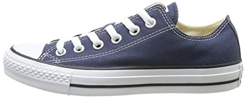 Converse Chuck Taylor All Star Canvas Low Top Sneaker,Navy,8 US Men/10 US Women Eyelet Mens Shoe