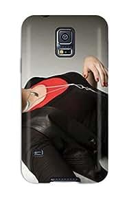 7926898K31495564 Protective Tpu Case With Fashion Design For Galaxy S5 (demi Lovato 21)