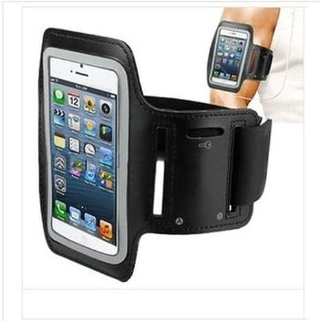 Brazalete deportivo cinta brazo para smartphone funda neopreno ...