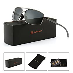 SUNGAIT Ultra Lightweight Rectangular Polarized