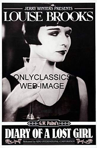 OnlyClassics 1929 Diary of A Lost Girl Great Image of Sexy Louise Brooks Poster-Drinking Wine