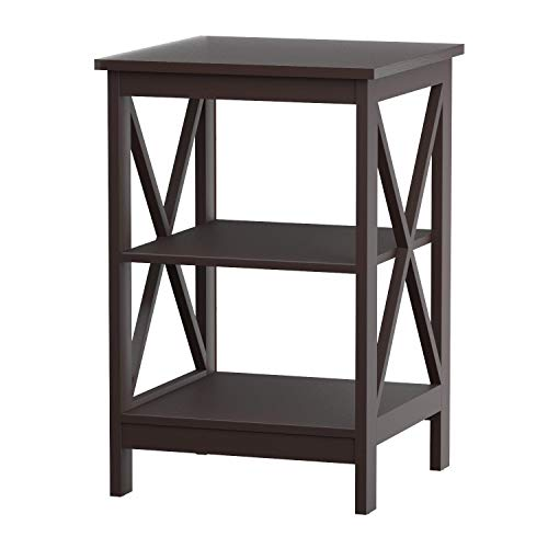 (Convenience Concepts Oxford End Table, Espresso)