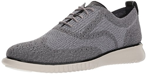 Cole Haan Men's 2.0 Zerogrand Stitchlite Oxford, Magnet/Ironstone/Vapor Grey, 10.5 Medium US