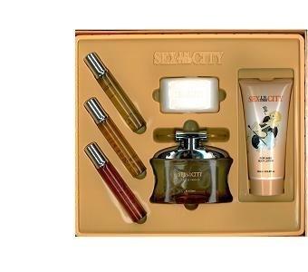(Sex In The City feeling naked 6 Pcs. Gift Set[3.4 Oz Edp Spray, 20 ml edp spr. naked,fantasy,exotic,naked and 6.8 oz. b.l. ] women)