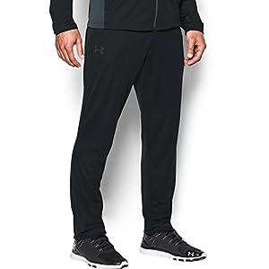 Under Armour Men's Maverick Tapered Pants, Black/Black, Large