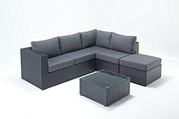 pretty nice d6fb4 baf13 Sydney Urdan Garden Furniture Small Corner Sofa Set-right ...