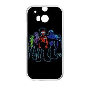 L4X24 adolescentes funda caso Titanes I1C7VU funda HTC uno M8 teléfono celular de cubierta AR9LFO6NJ blanco