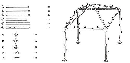 """Safstar Canopy Tent Gazebo Pavilion Cater for Event Party Wedding Heavy Duty, Green, 10""""x 10"""""""