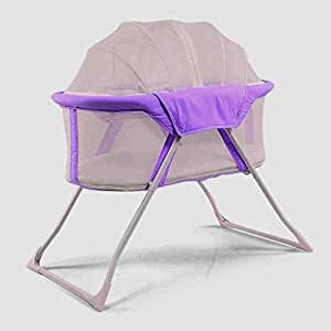 Portable Baby Bed [Purple]