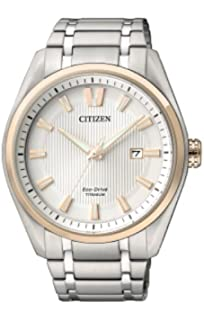 Citizen Relojes Super Titanio 1240 Unisex de Eco Drive – aw1244 ...